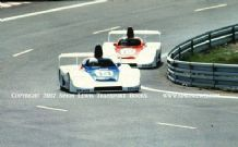 Porsche 936s Wollek/Haywood and Ickx/Redman/Barth. Photo.  Le Mans 1979